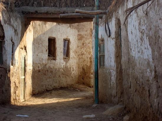 Old Bawiti: Nebengasse im Ksar