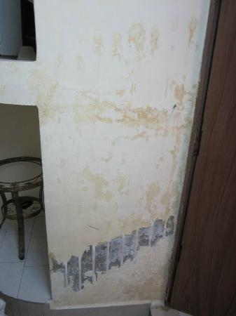 ‪‪Hotel Saniya Place‬: Walls with water damage‬