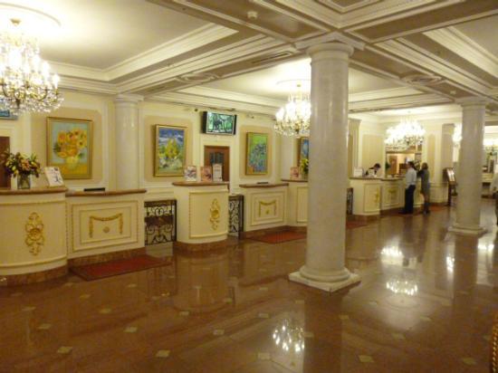 Korston Club Hotel Moscow : ロビー