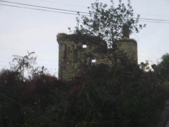 The Moorings: Castle from bedroom window