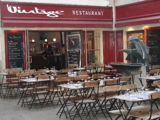 la terrasse Picture of Le Vintage, Nimes TripAdvisor