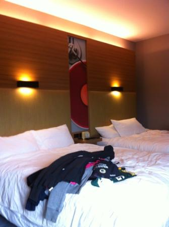 Aloft Green Bay: the oh so comfi beds!!!
