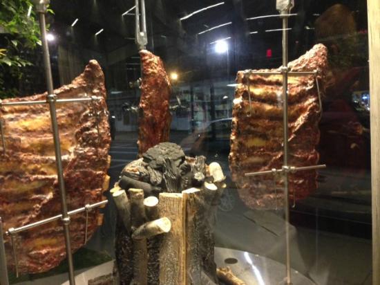 Brazilian Grill : meats on display