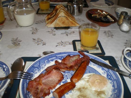 Biscayne House Bed & Breakfast : Irish breakfast