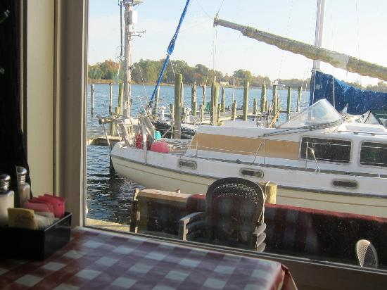 The Crazy Crab: View from our table, Nov. 10, 2012