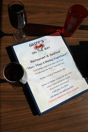Griff's on the Bay Restaurant & Seafood Market: Your passport to pleasure