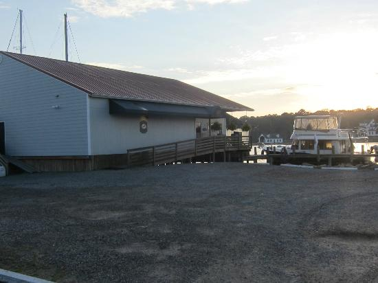 The Crazy Crab: View of the front entrance from the parking lot. Nov. 10, 2012