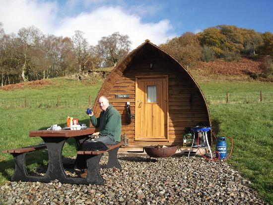 Black Hall Lodges: Breakfast Al Fresco