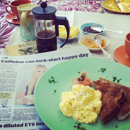 ذا جرايت بونسونبي آرتهوتل: Delicious breakfast at Great Ponsonby Art Hotel 