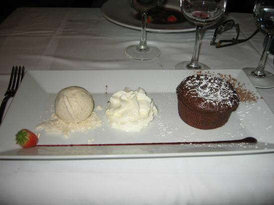 Brasserie du Grand Café de l'Opéra : fondant au chocolart