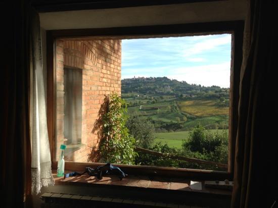 Agriturismo Villa Mazzi: panorama del appartamento nostro