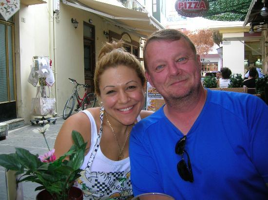 La Piazza Pizzeria : Friendly service!!!