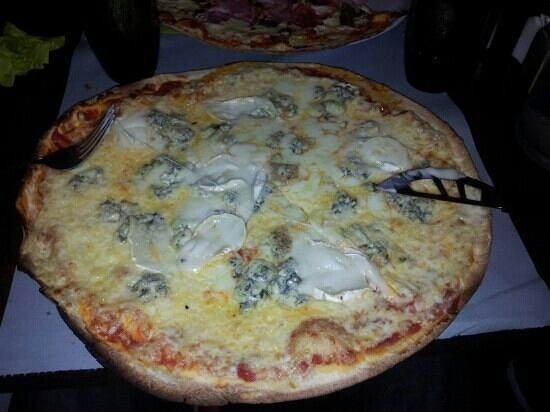 Entre 2: pizza 4 fromages