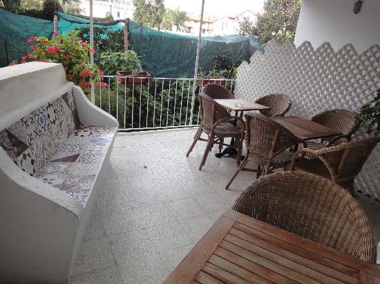 Hotel Mignon: spazio all'aperto