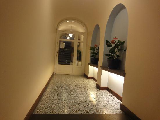 Hotel Mignon: ingresso
