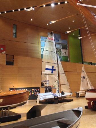 Maritime Centre Vellamo: Finland's Olympic sailboat