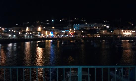 The Parks Guest Accommodation: Torquay Harbour at night