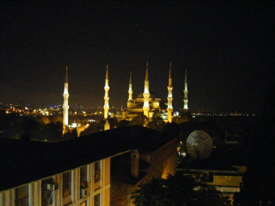View from restaurant, Lady Diana Hotel, Istanbul