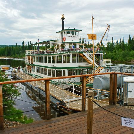 Riverboat Discovery at Discovery Trading Post