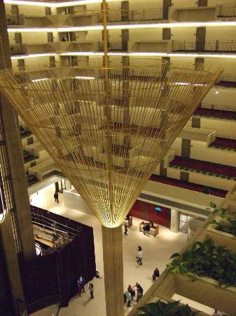 Hyatt Regency Atlanta: View from 7th floor looking down into lobby