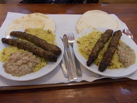 Shawarma Station Halal : shawarma station - kofta e riso basmati