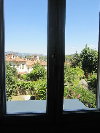 SanGaggio House: View from our window on main flr