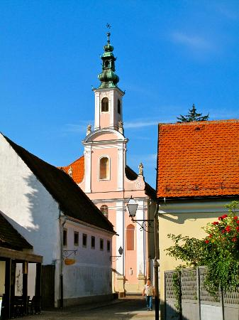 Old Castle (Stari Grad) : street of Varazdin