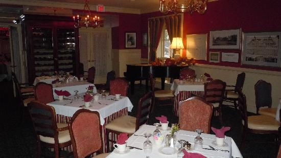 Hawthorne Hotel : Hawthorne's Restaurant Nathanial's