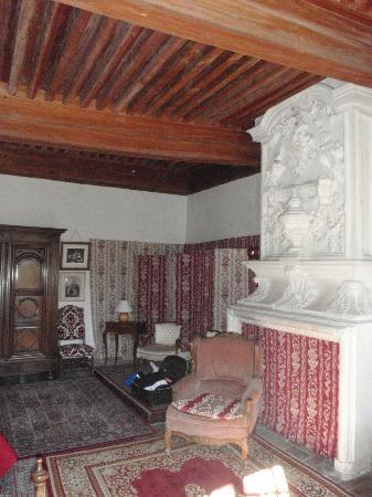 Chateau de Bardonenche: Our room