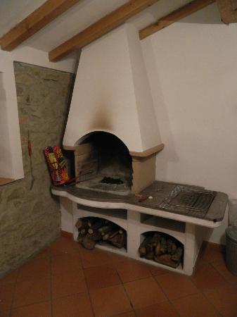 Villa il Castellaccio: BBQ