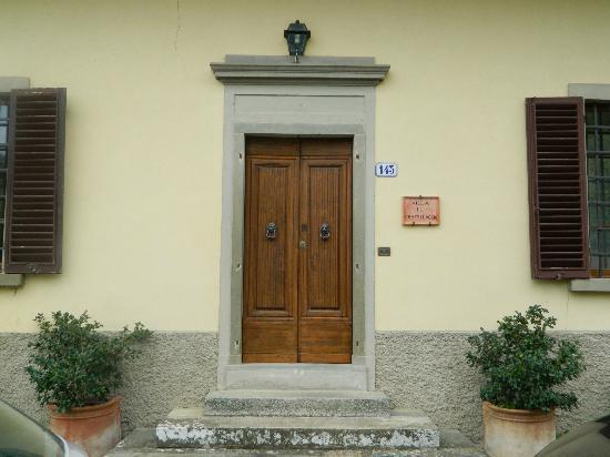 Villa il Castellaccio: Entrance to Villa