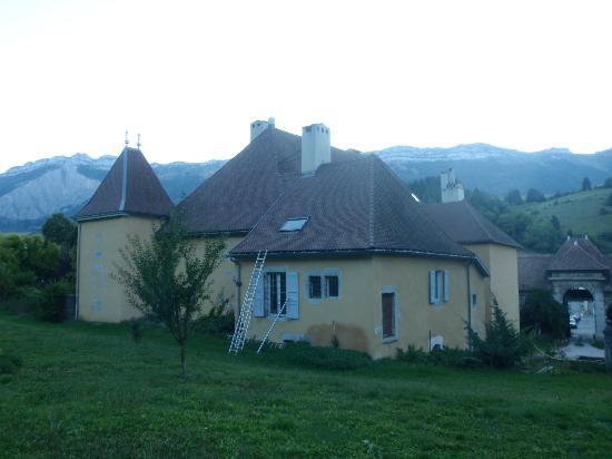 Chateau de Bardonenche: rear of the Chateau