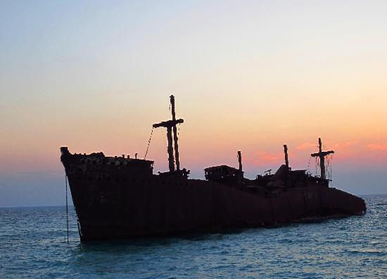 Kish Island, Iran: Greek Ship