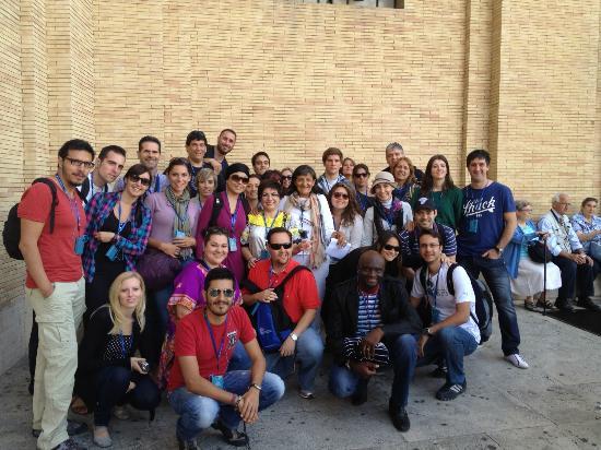 What a Life Tours : Walking Encyclopedia Alicia Moreno Esteban-Vatican Tour in Spanish