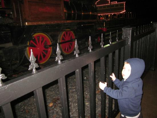 the carousel - Picture of Christmas Train at Dry Gulch, Pryor ...