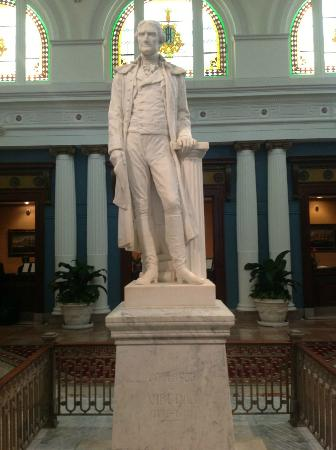 Statue of Thomas Jefferson at The Jefferson Hotel, Richmond Va.