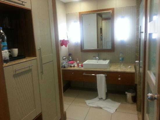 Hilton Dalaman Sarigerme Resort & Spa: One part of bathroom