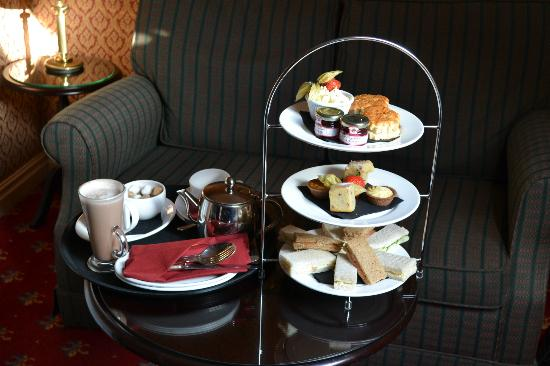 Langley Castle Hotel: Afternoon Tea