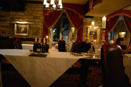 Langley Castle Hotel: Dining Room