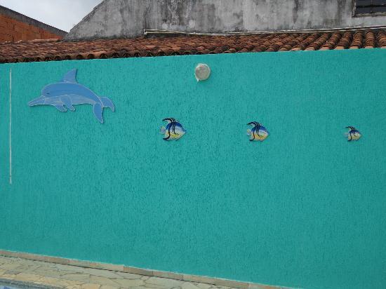 Pousada Mar de Geriba: Decoração