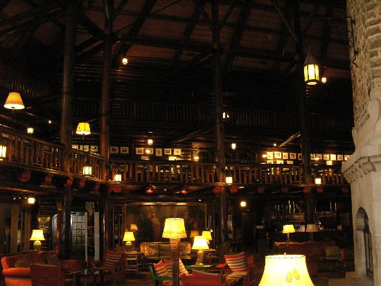 ‪‪Fairmont Le Chateau Montebello‬: hall