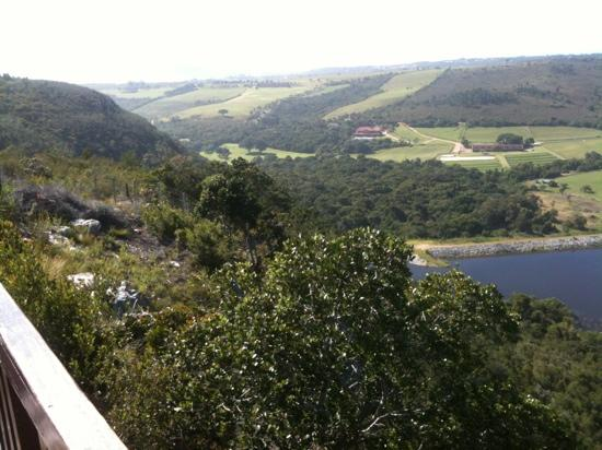African Array Lodge: Ausblick von der Terasse