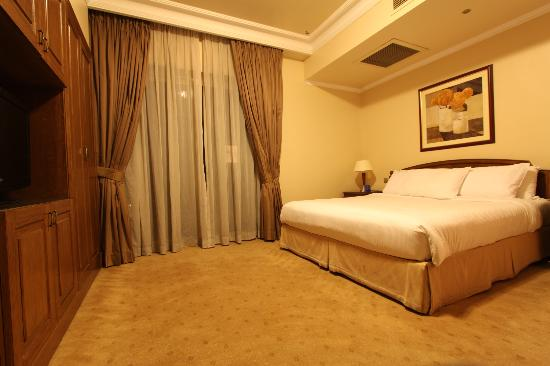 Hilton Cairo Zamalek Residences : Bedroom
