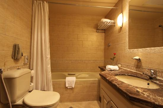 Hilton Cairo Zamalek Residences : Bathroom
