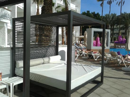 Cama balinesa picture of hotel riu don miguel playa del for Cama balinesa