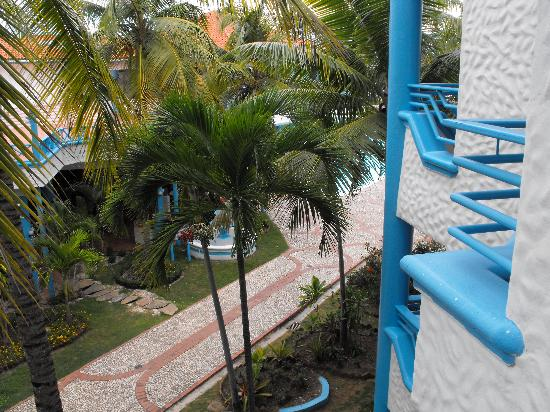 Hotel Costa Larimar : view from our balcony