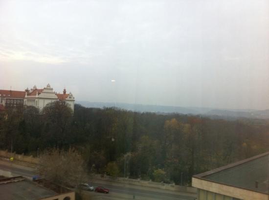 Parkhotel Praha: vista dal 7 piano