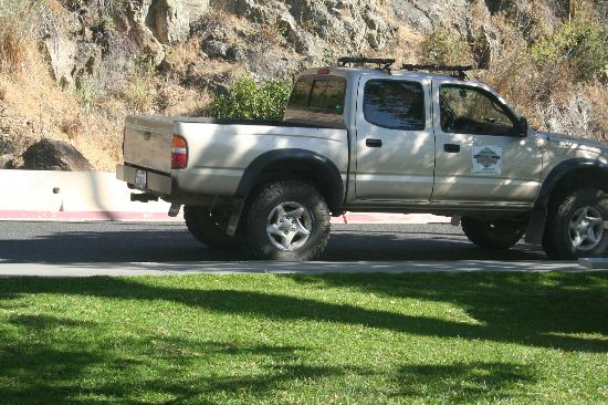 Wet Spot Rentals - Island Outback Tours: the pickup truck