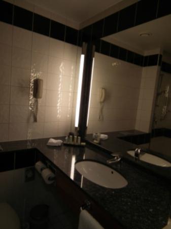 Radisson Blu Sky Hotel: bagno