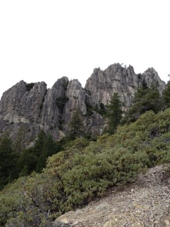 Castle Crags State Park: Top of Crags Trail .... what a view!!!